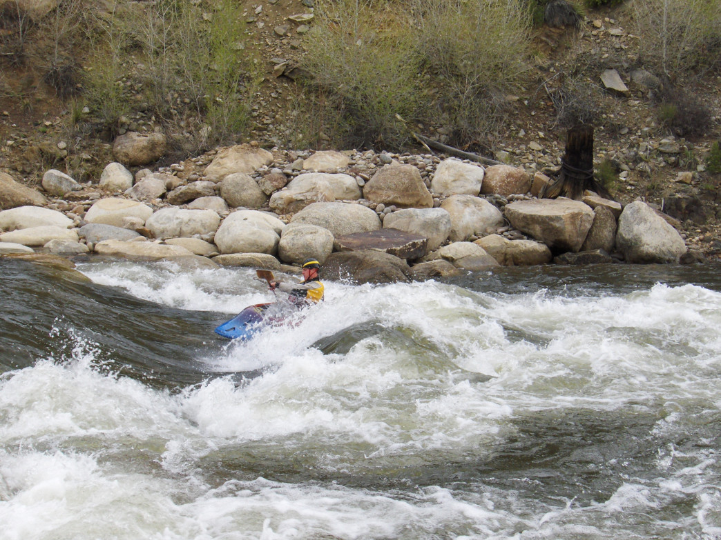 The Buena Vista Whitewater Park has some super fun waves.