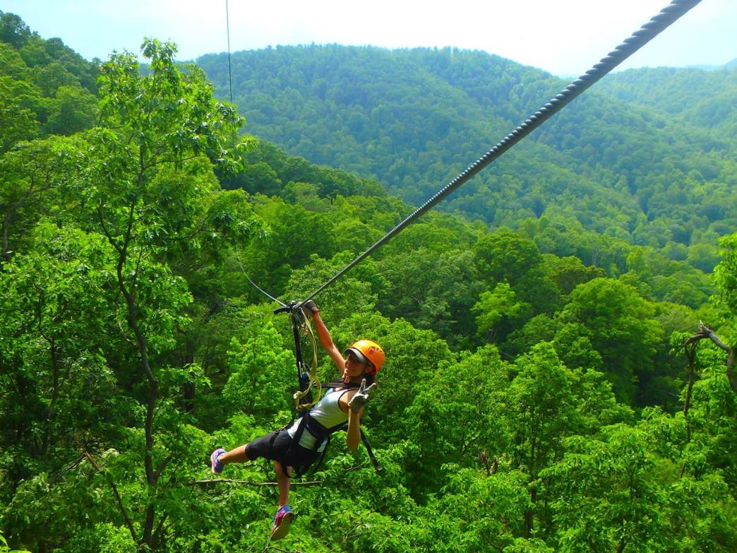 The Gorge Zip-line Canopy Tour