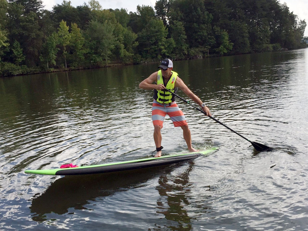 Winston-Salem's watershed lakes offer more than 1,000 acres of water perfect for flatwater kayaking, canoeing, and SUP.
