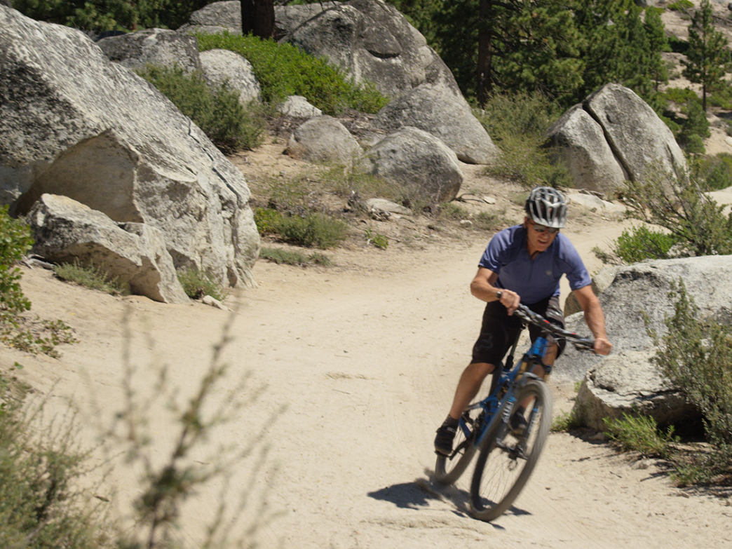 Lake Tahoe trails are beloved among the MTB set.