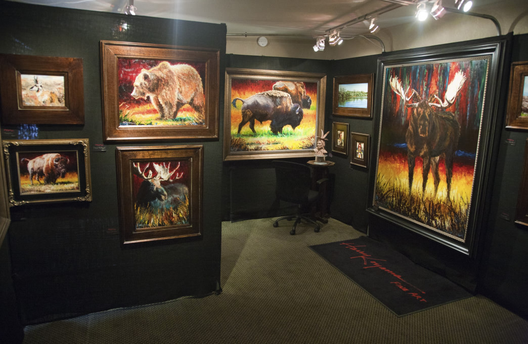 Western artists, enthusiasts, and art buyers descend upon Great Falls for its annual art festival.