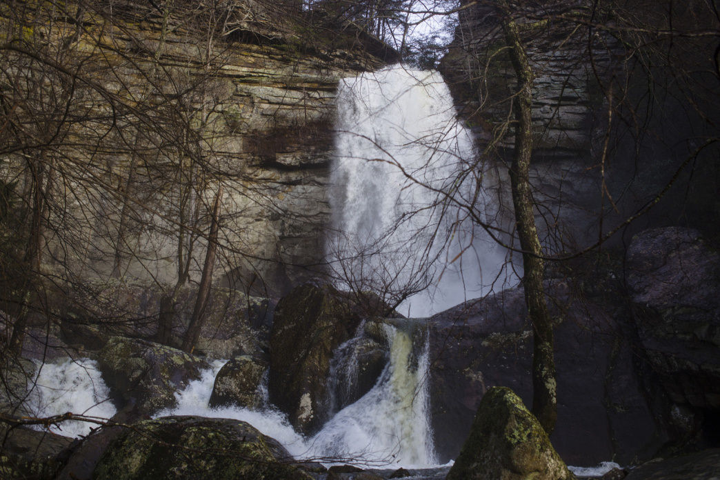 Laurel Falls, Laurel-Snow State Natural Area, Dayton, Tennessee