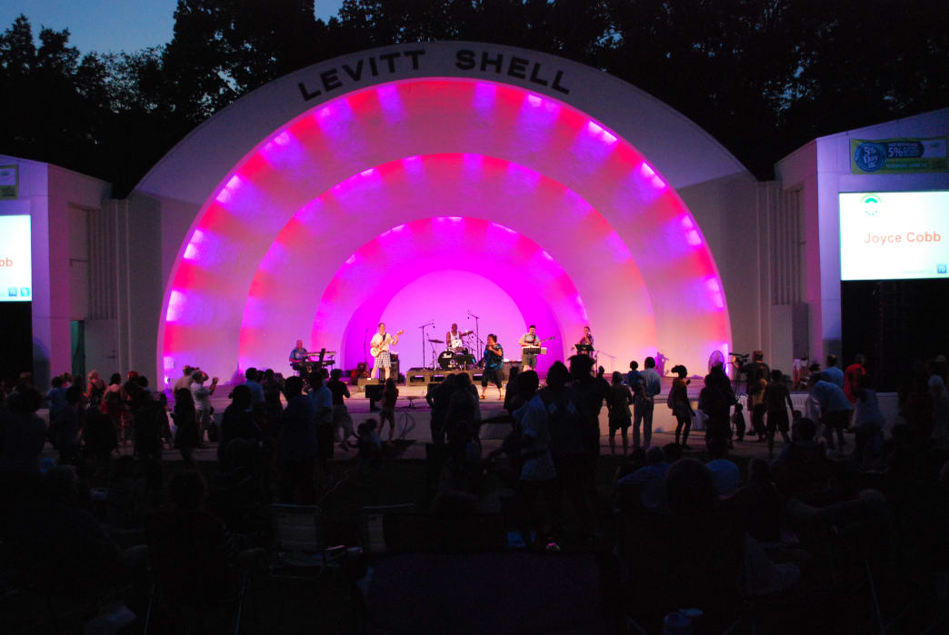 Every summer, Levitt Shell hosts more than 50 free shows.