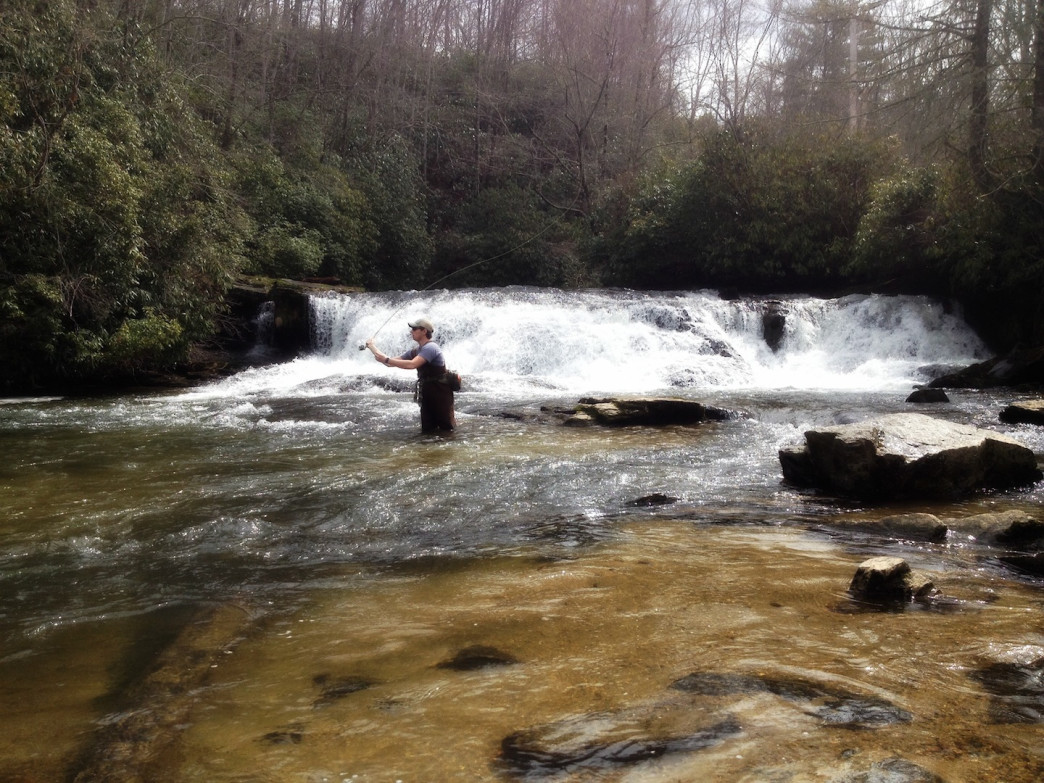 Finding perfection fly fishing in brevard for French broad river fishing