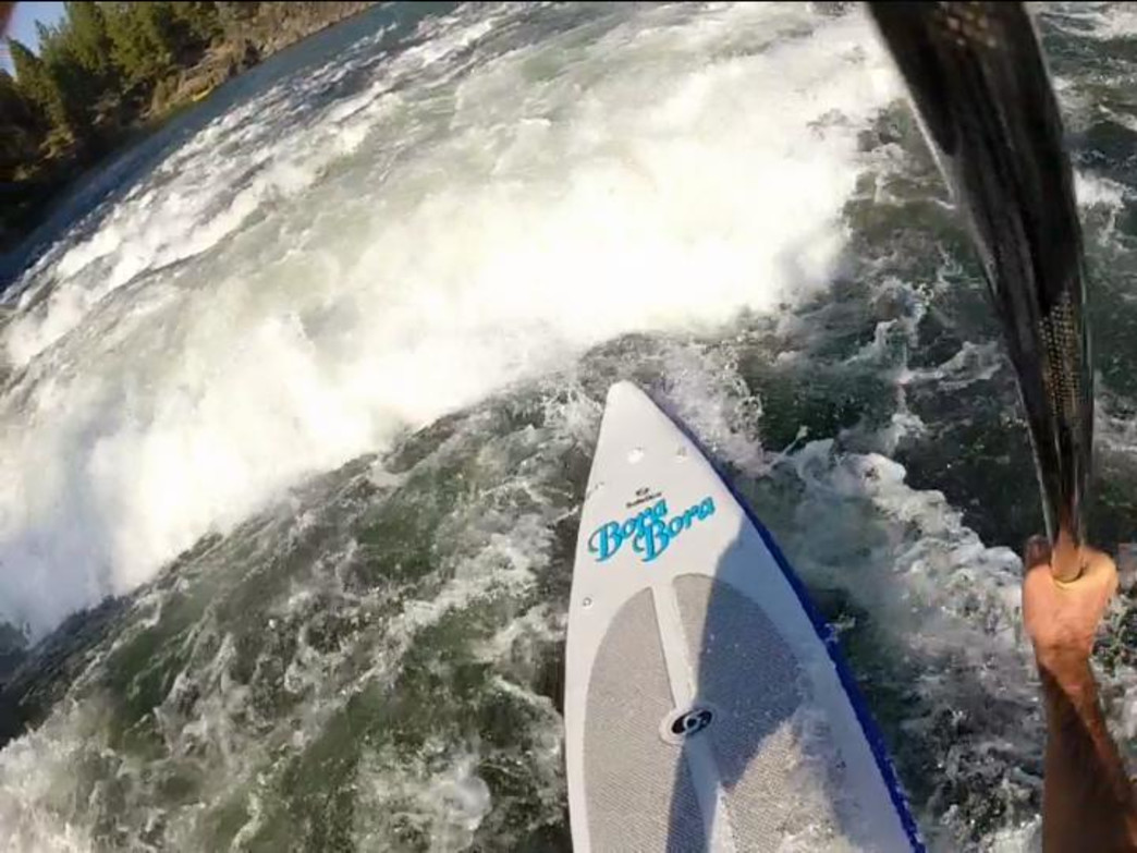 Several rivers near Portland and throughout Oregon make ideal whitewater SUP destinations.