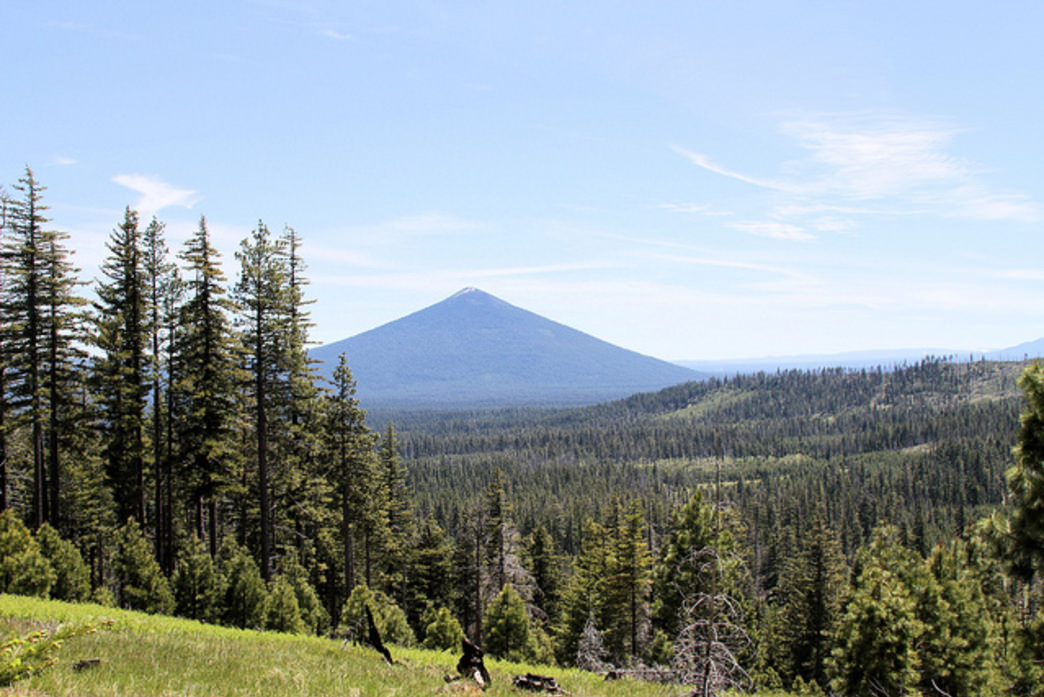 Black Butte is one of the many iconic peaks in Central Oregon.