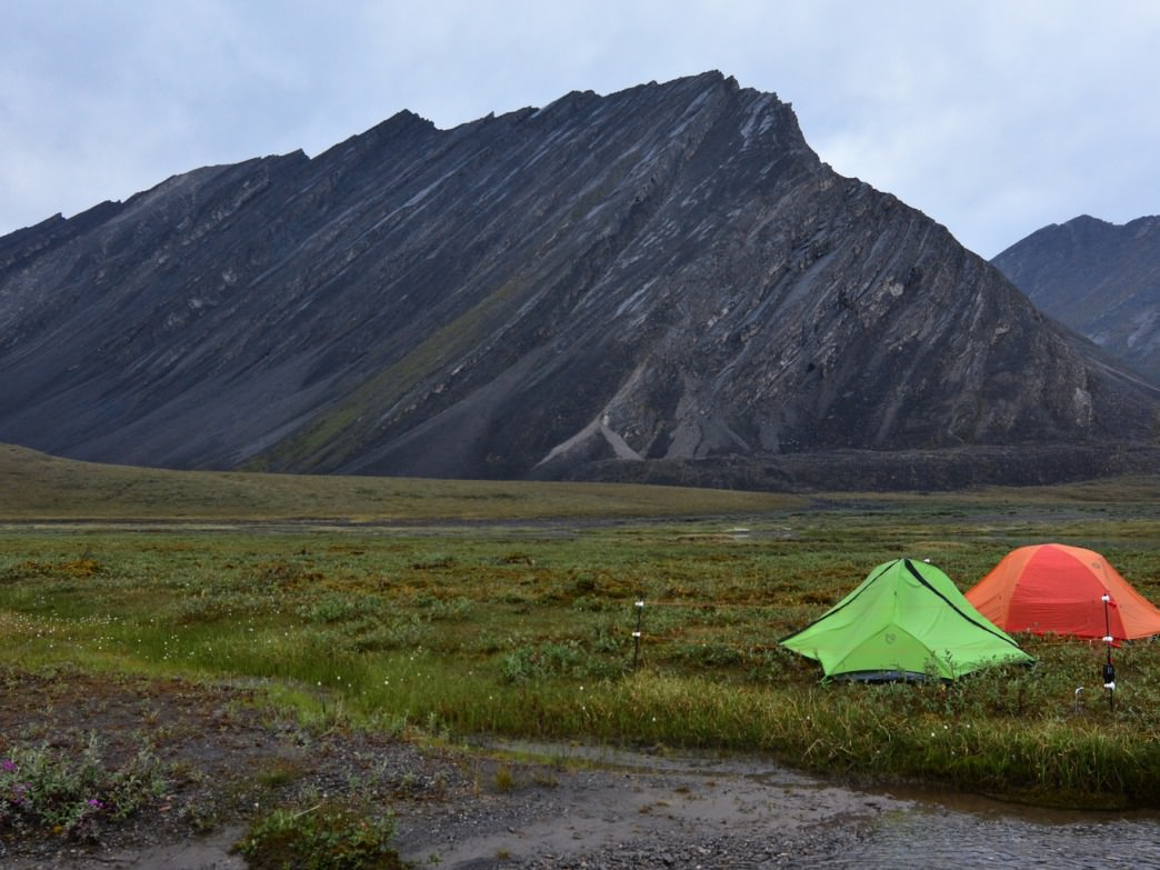 It's all backcountry camping here.