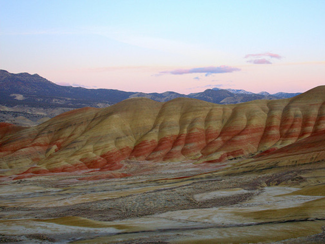 Oregon's Painted Hills are just one of the wonders to be explored along Highway 26.