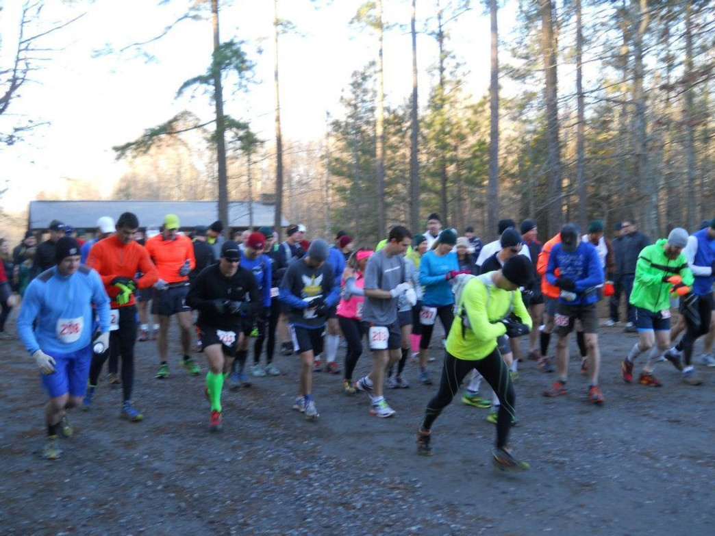 There's no better way to get jump-started on those resolutions than a New Year's Day race.
