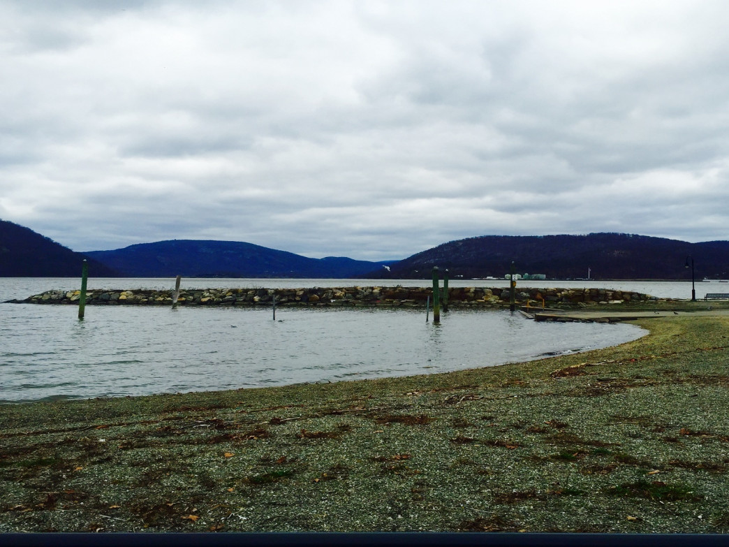 Viewing Bear Mountain from Peekskill, N.Y.