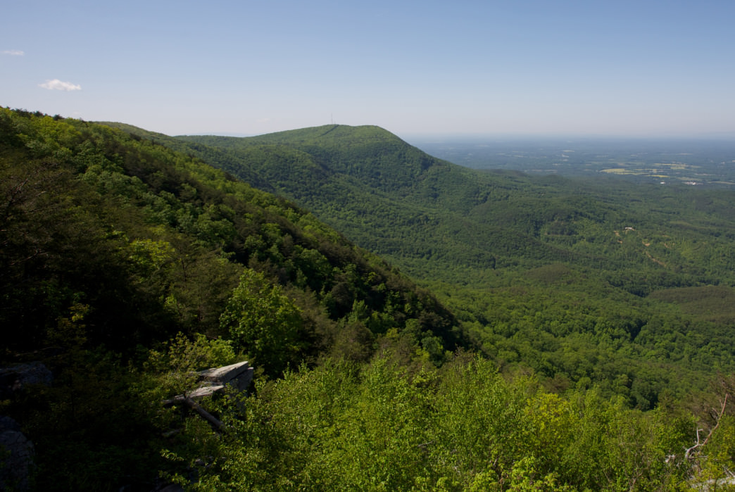 Photo of view from Fort Mountain