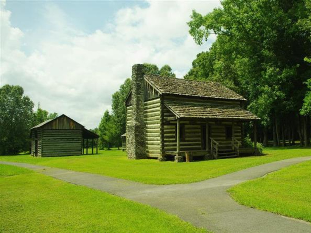 Then Red Clay State Historic Area was the last seat of Cherokee national government.