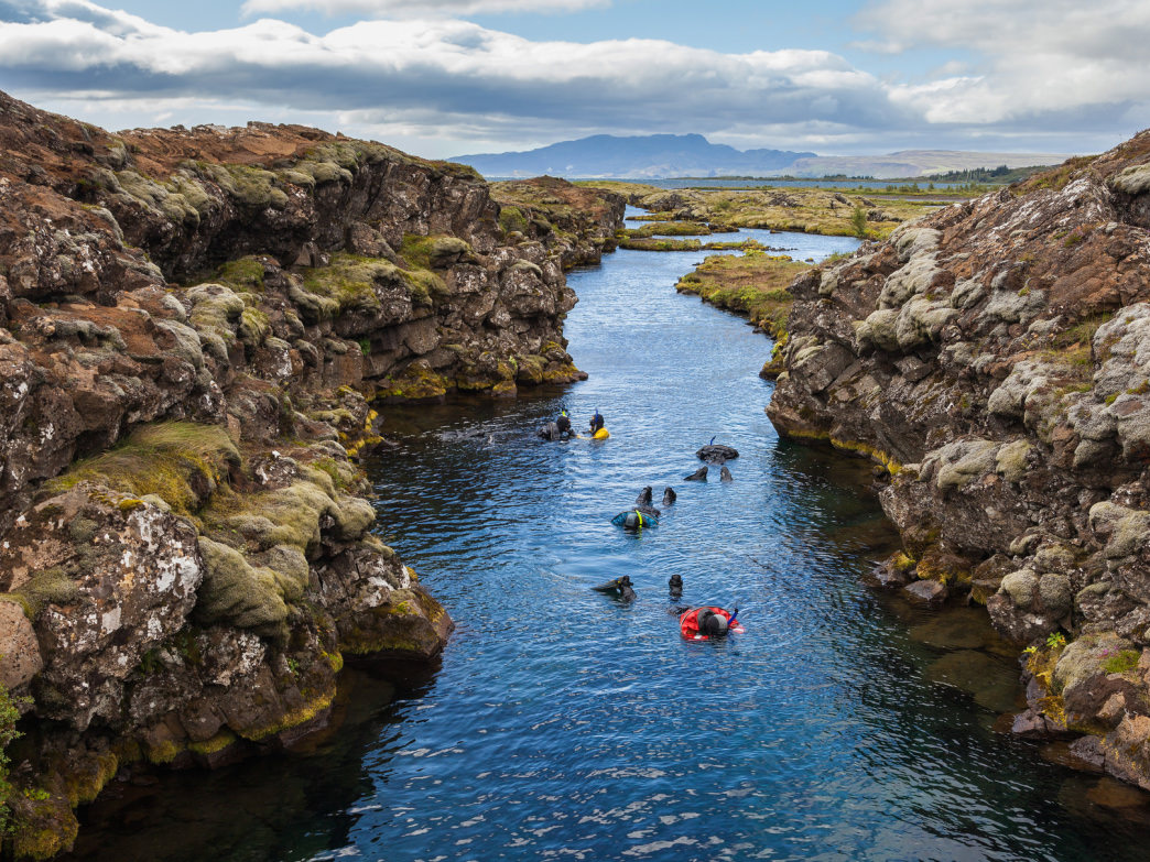 Snorkeling in Iceland's Silfra Tectonic Fissure is one of the most unique experiences you can ever have.
