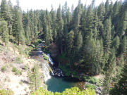 Middle McCloud Falls Overlook