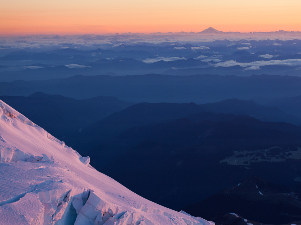 View from Mount Rainier