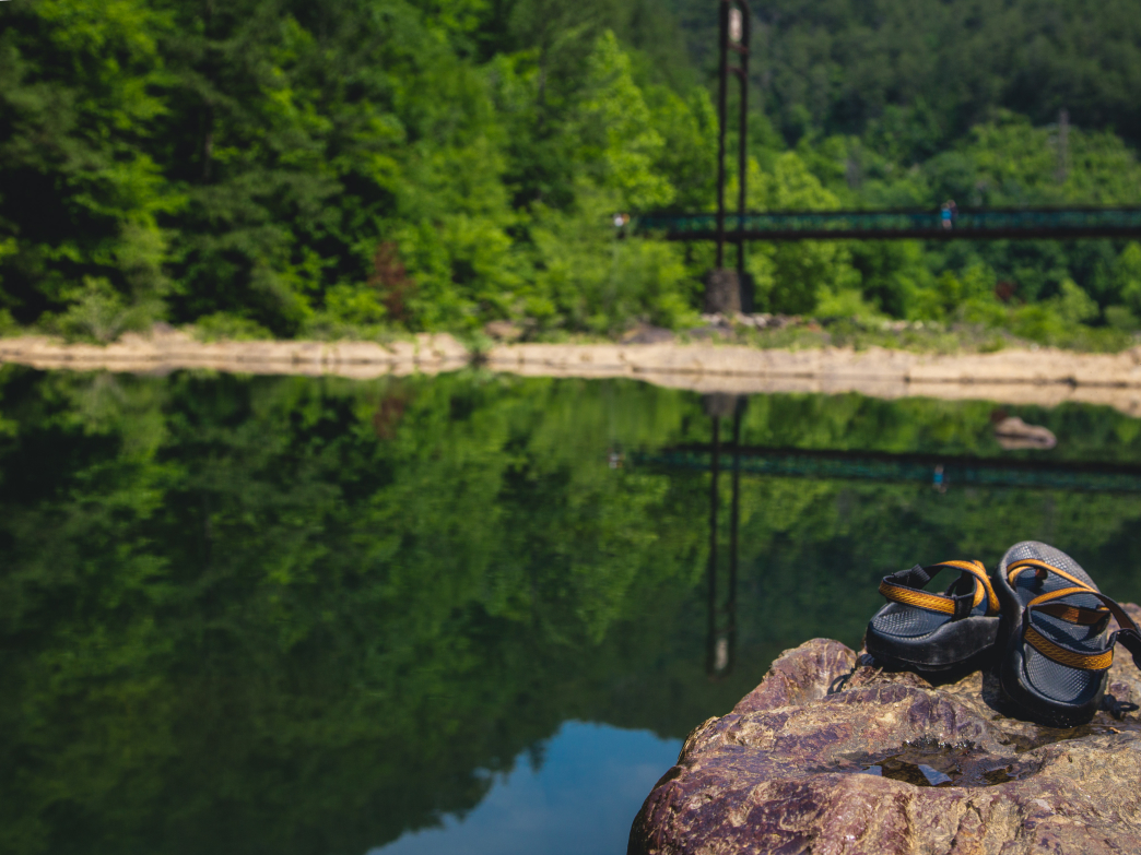 If you keep your Chacos clean they are guaranteed to take care your feet on all of life's adventures.