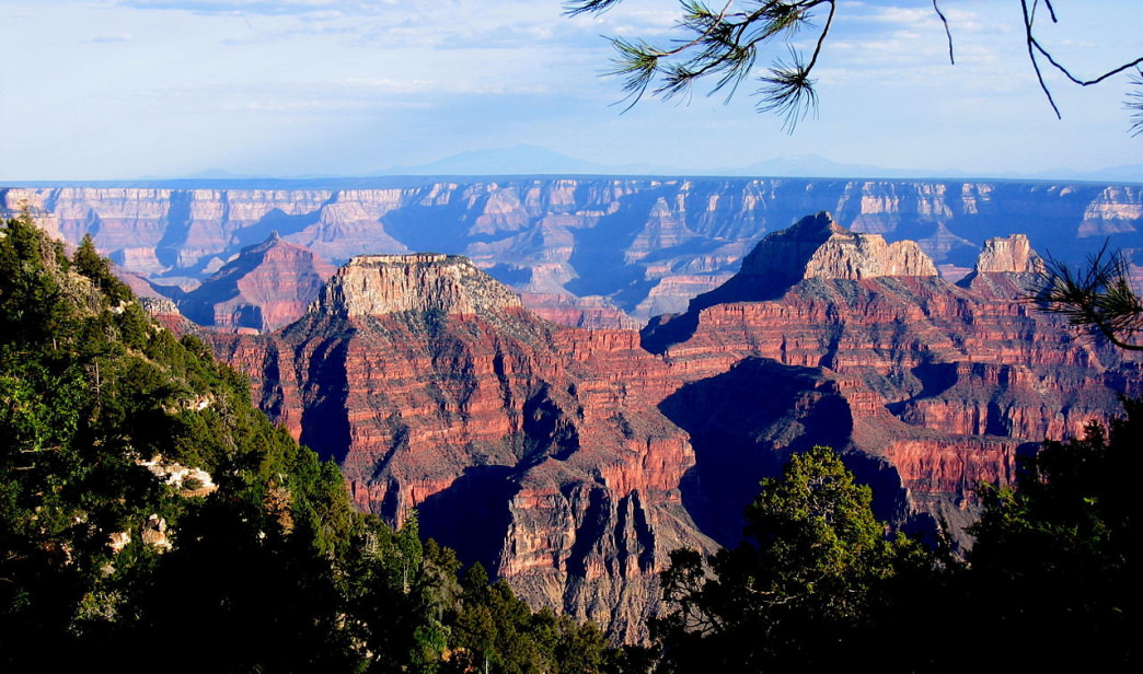 Views from the North Rim of the Grand Canyon.