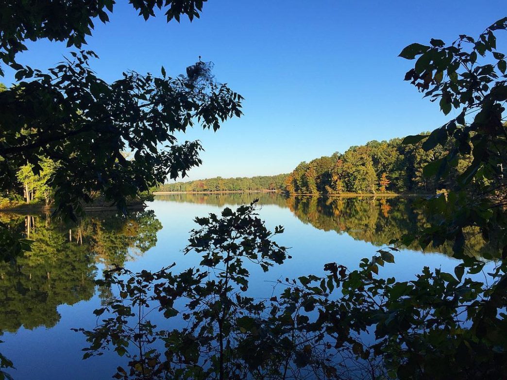This six mile trail is worth the trek to the beautiful view of the lake.