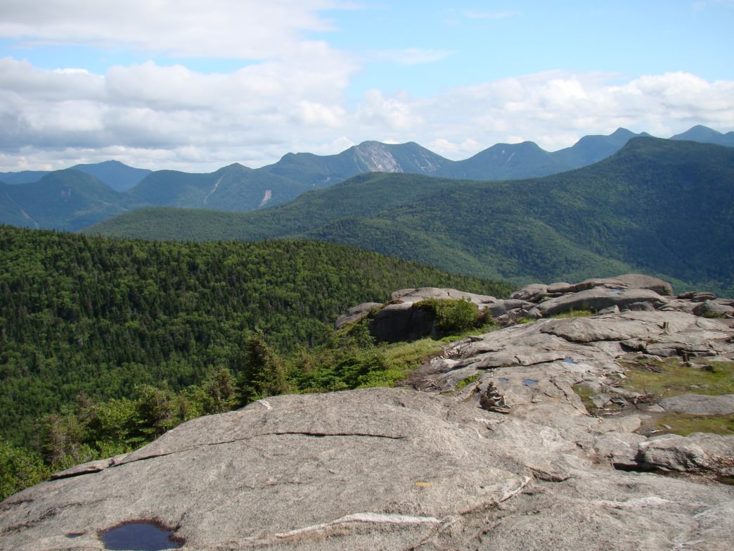 Views from the top of Cascade Mountain.