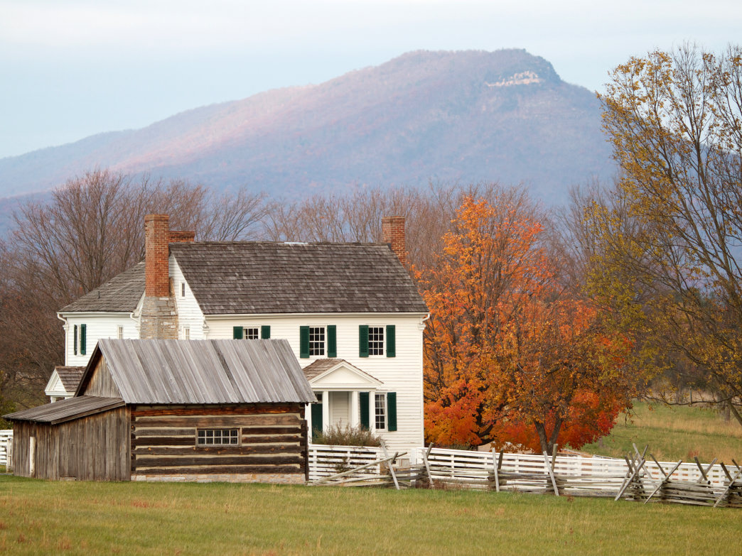 The Bushong Farmhouse was a historical site at the Battle of New Market during the Civil War.