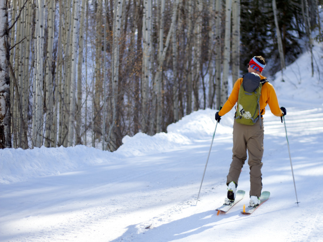 Aspen abounds with options for world-class alpine skiing.