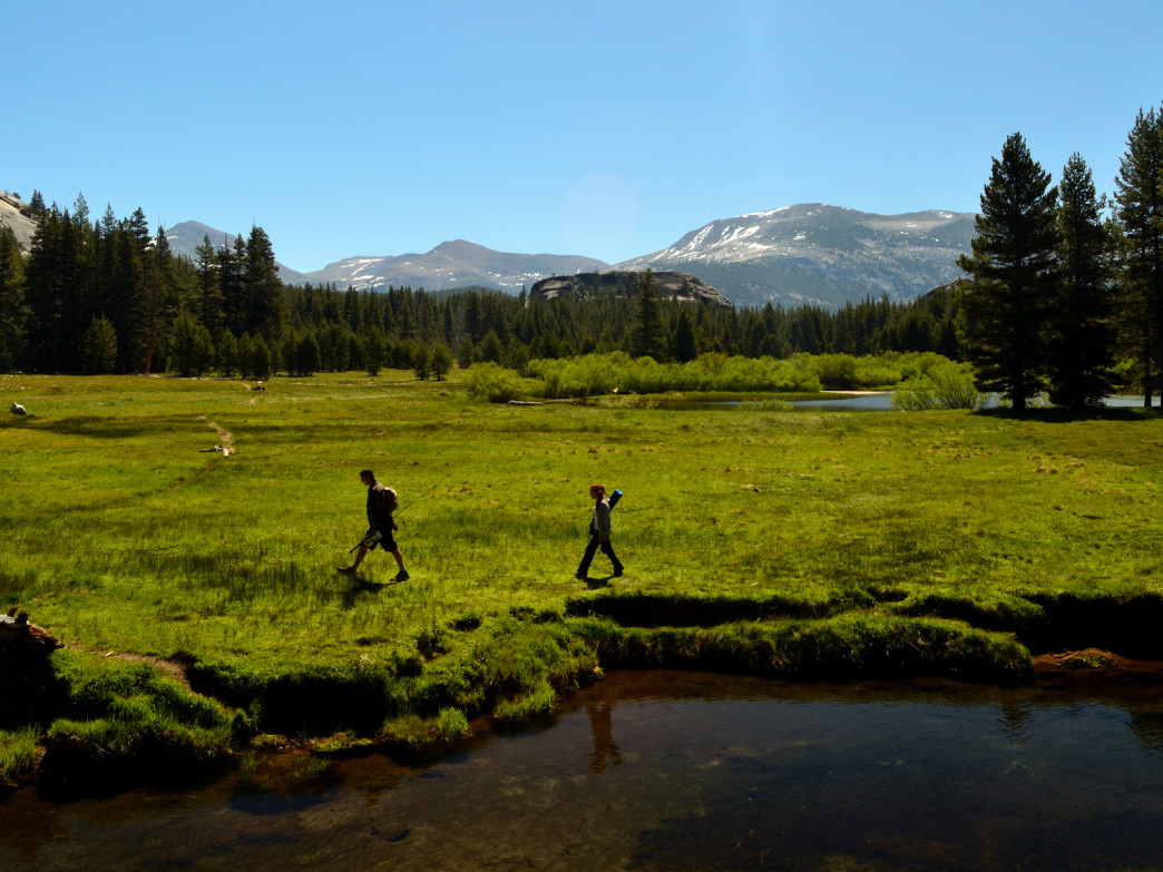 Gone fishin' in Tuolumne Meadows