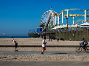 Image for Boardwalk in Santa Monica Running