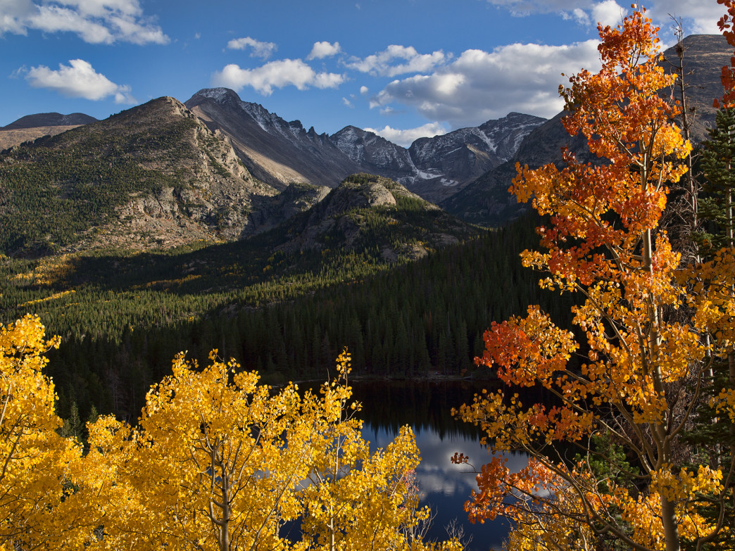 Mahon can often be found in the Aspen mountains.