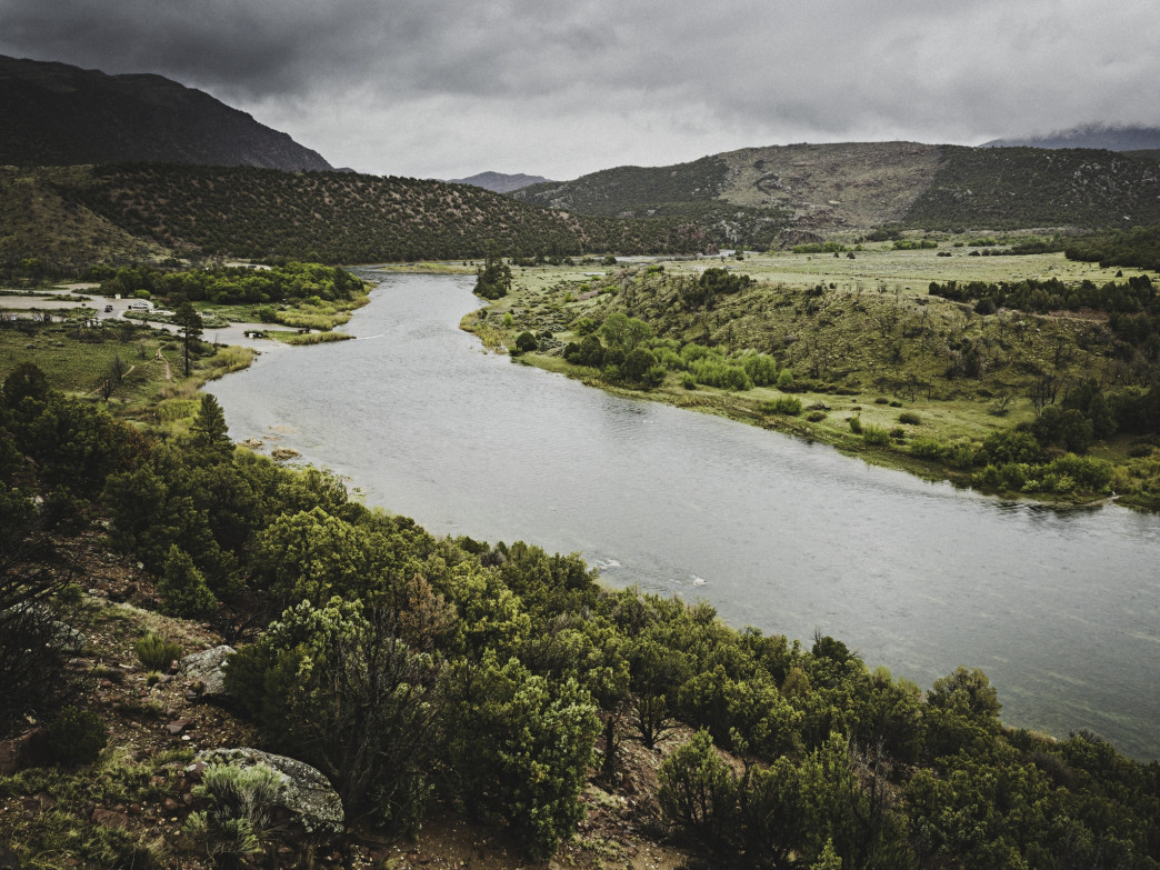 Little Hole on the Green River is one of the most popular spots to drop a line.