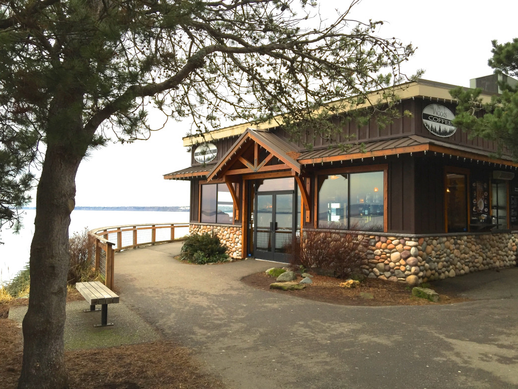Located within Boulevard Park, Woods Coffee is a great fuel-up spot after a hike.