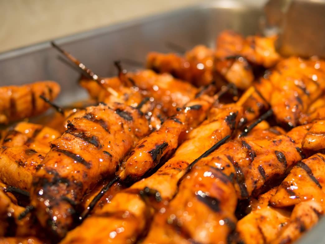 Chicken skewers are a quick and easy way to grill up a hardy and tasty meal.