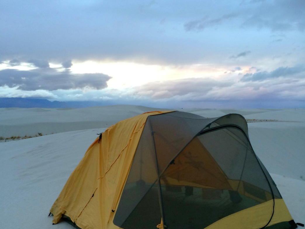 A night among the sand and stars at White Sand Dunes National Monument