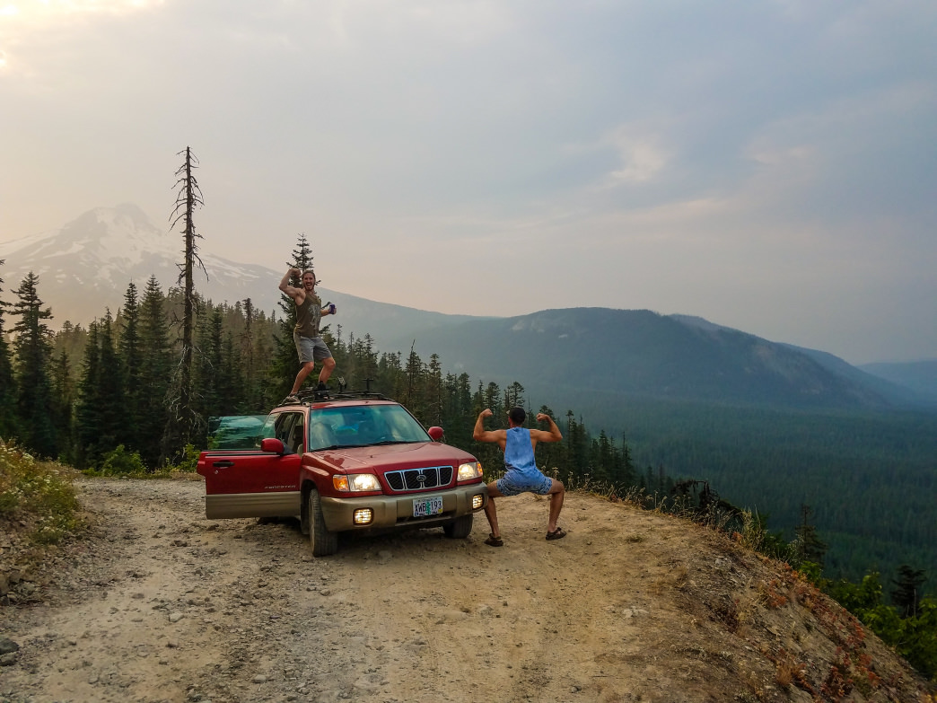 You'll need a rig with serious clearance or serious rock crawling skills to navigate the rough stretches of FS 4890 in the Mount Hood National Forest. Surviving the sketchy section may lead to feelings of superiority.       Dylan Jones