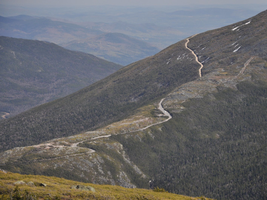 The drive along Mt. Washington Auto Road offers stunning panoramic views