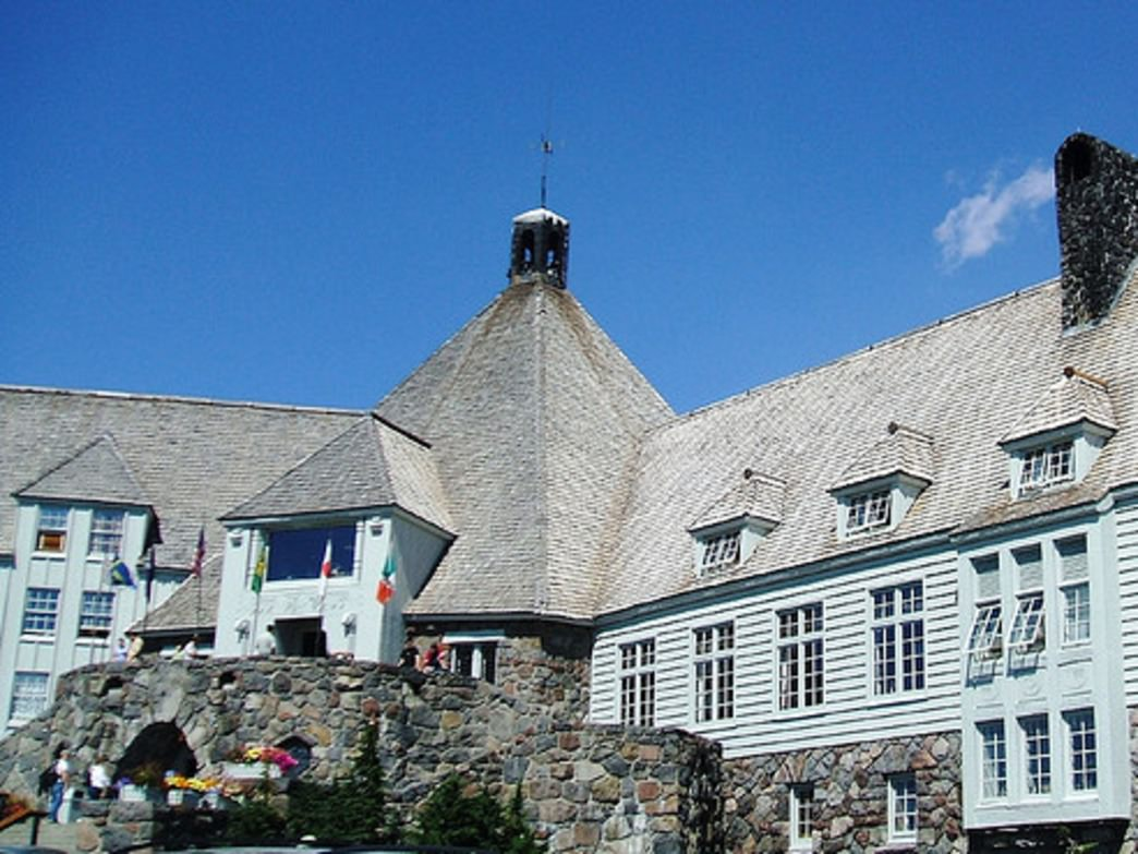 Timberline Lodge's iconic exterior was filmed for outdoor shots in The Shining.
