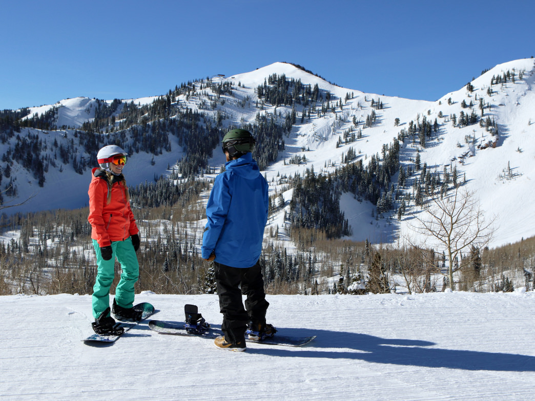 Park City Mountain Resort is always a great place to start your weekend.