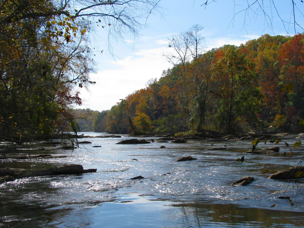 The Chattahoochee River offers a scenic escape from Atlanta.