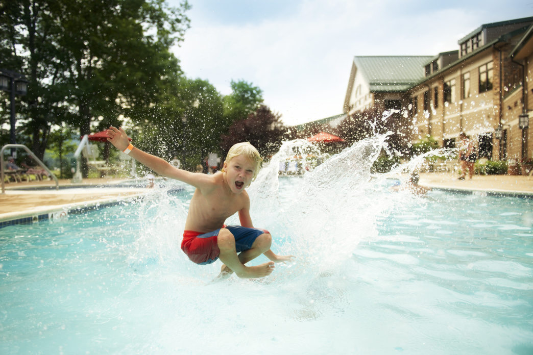 Stonewall Resort can be a romantic getaway, or a family-friendly vacation.     Chris Audia