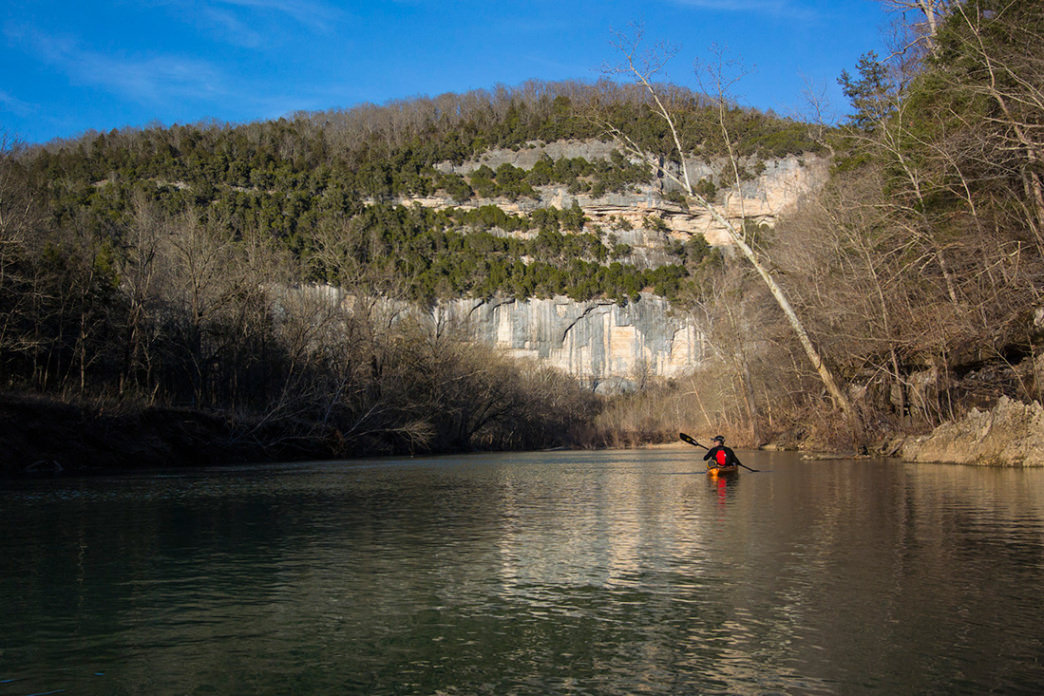 Big Bluff, Buffalo National River