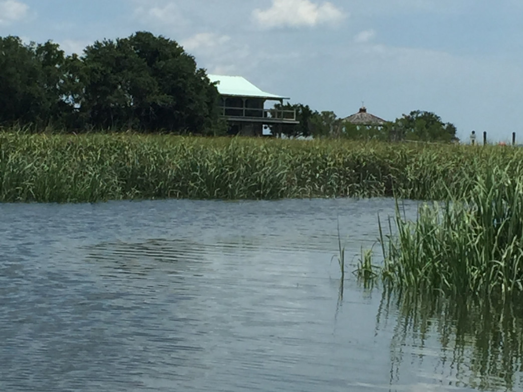 Kayaking the salt marshes of eastern Carolina are a top pick for Heisel.