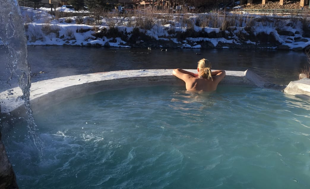 The Springs Resort in Pagosa Springs is a serene place to start your tour.