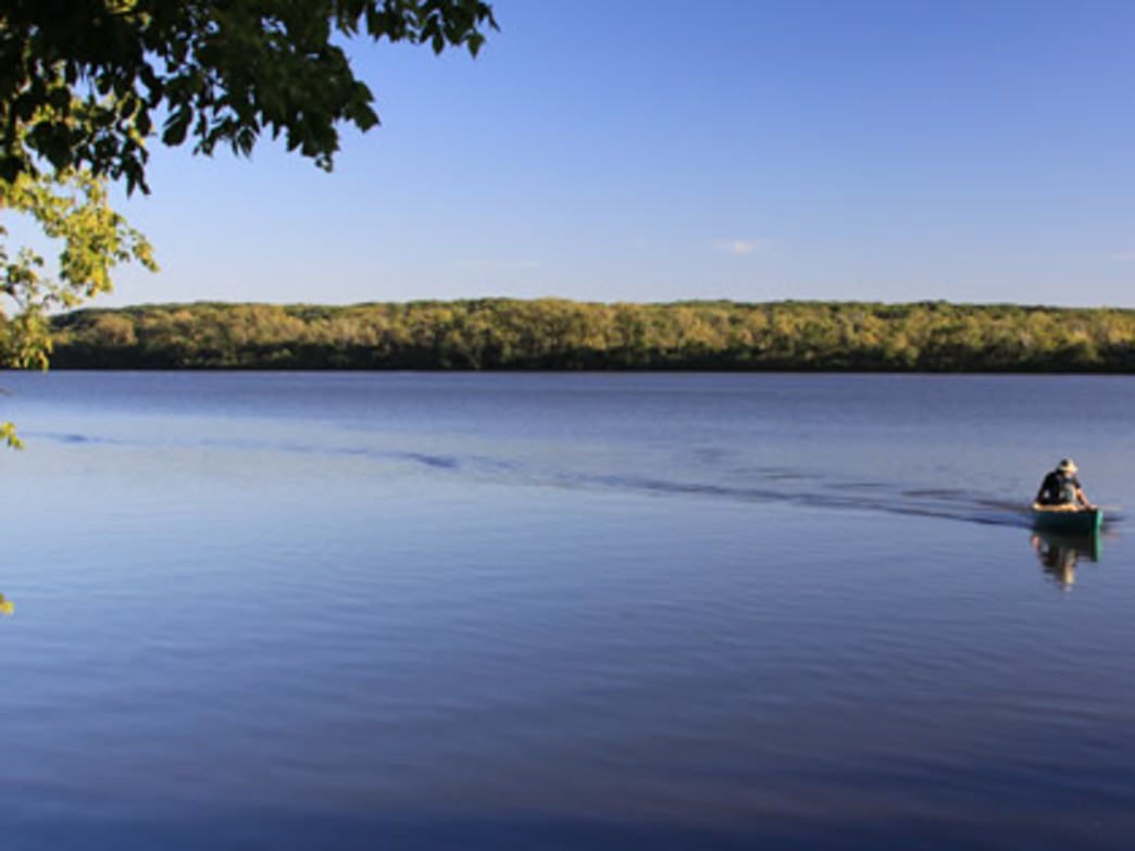 The Cook County Forest Preserve offered camping at Bullfrog Lake for the first time this year.
