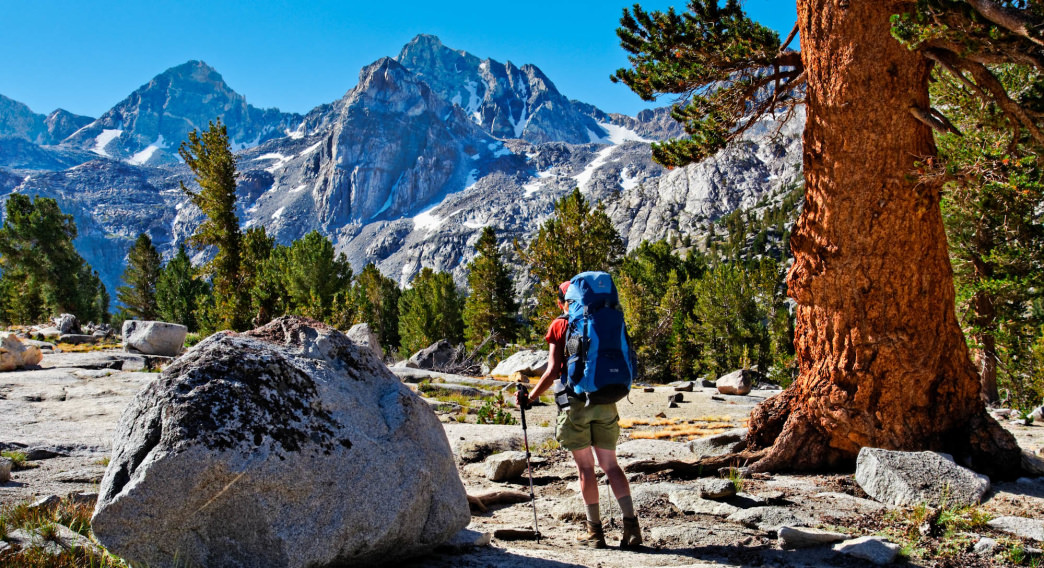 Views are plentiful in the Sierra no matter what trail you are on.