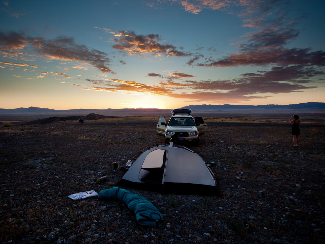 The rugged and otherworldly landscape of Tooele County makes for unique camping experiences in a variety of settings.