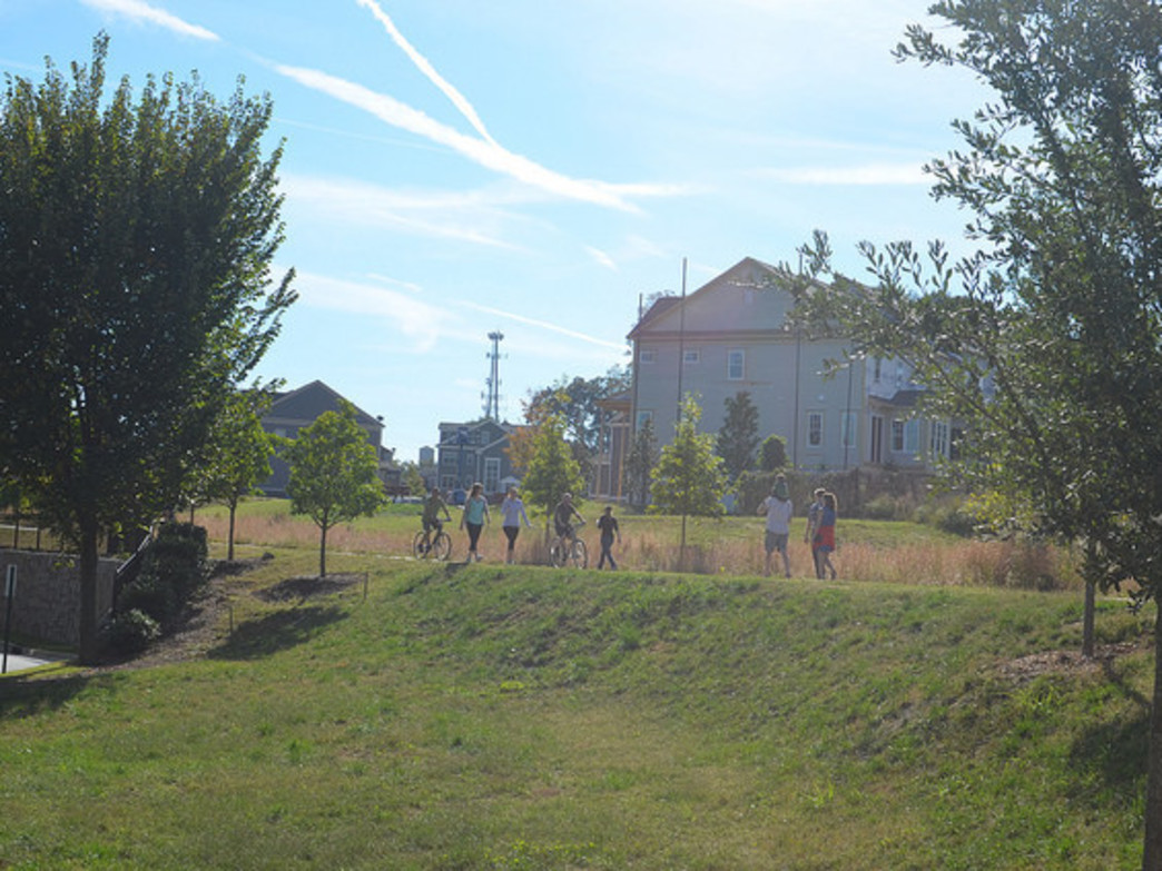 The  Eastside Trail, part of Atlanta's Beltline, has become a valuable resource for city-dwelling athletes.