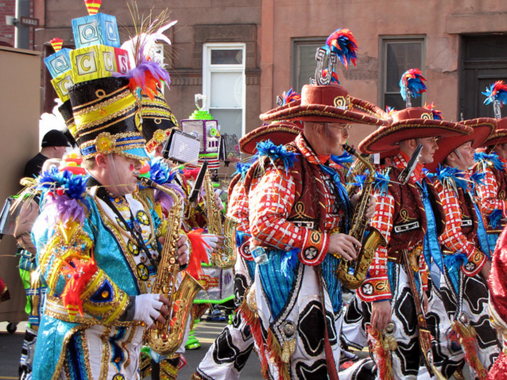 The Mummers' Parade is one of Philadelphia's oldest traditions.