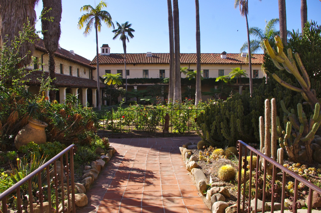 Santa Barbara is known for its Spanish-influenced architecture.