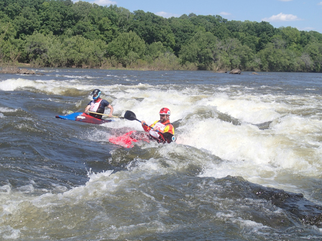 The Coosa River is one of the best in the country to learn whitewater kayaking.