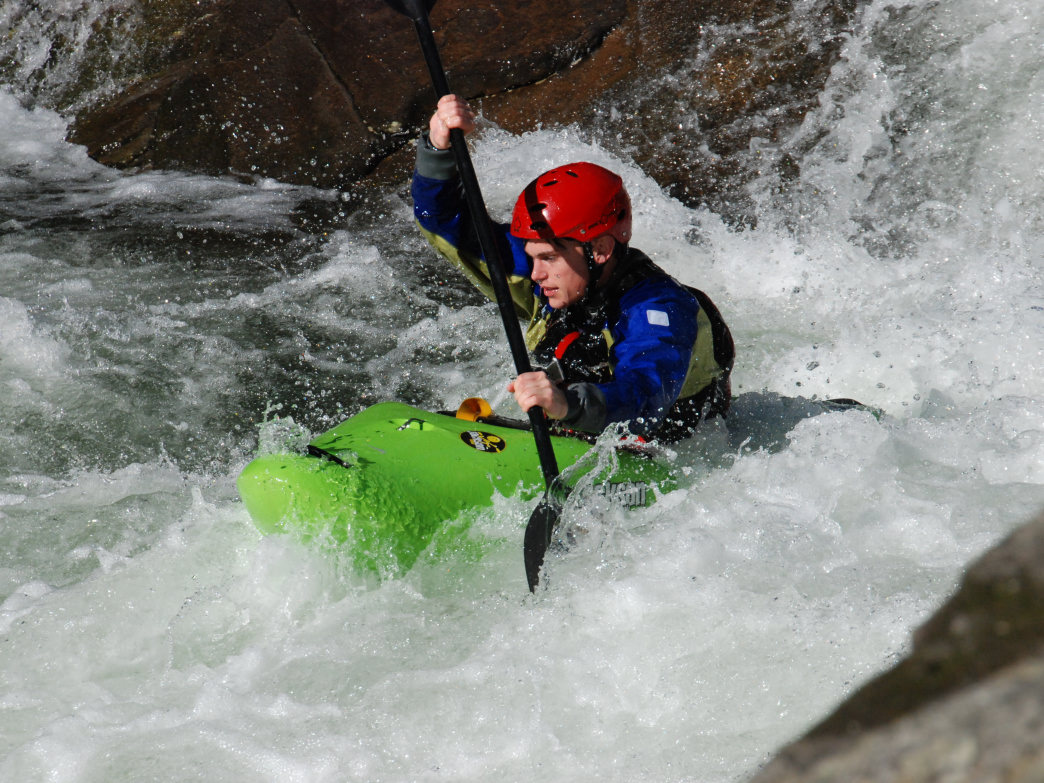 Tremont is a favorite Smoky Mountain creek for intermediate and advanced paddlers.