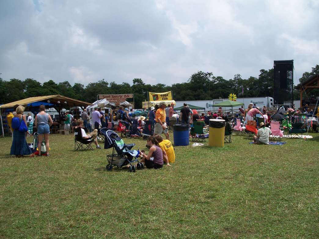 Visitors may flock to Floyd, Virginia, for Floydfest, but it offers year-round activities for outdoor enthusiasts.
